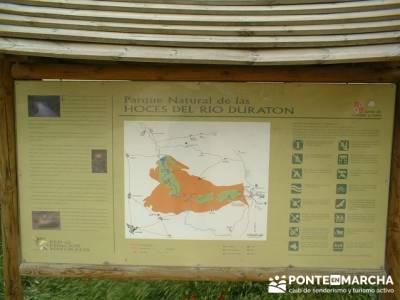 Hoces del Río Duratón - Ruta entre rios - Sepúlveda; viajes naturaleza; actividades culturales en